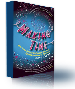 The book cover of 'Making Time', by Steve Taylor.