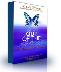 The book cover of 'Out of the Darkness, by Steve Taylor.